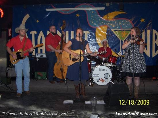Jenn Miori & The Corn Ponies @ The Stardust Club (12/18/2009)