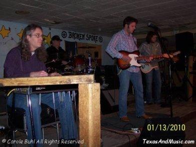 Weldon Henson @ The Broken Spoke (01/13/2010)