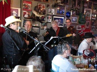 Sunset Valley Boys @ Evangeline's Cafe (02/06/2010)