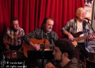Charlie Irwin & Friends @ Evangeline's (01/20/2011)