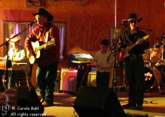 Sam Bentley @ The Painted Horse Pavilion (01/29/2011)
