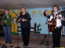 Of course, The Kyle Sisters did some wonderful harmony on their Christmas songs.