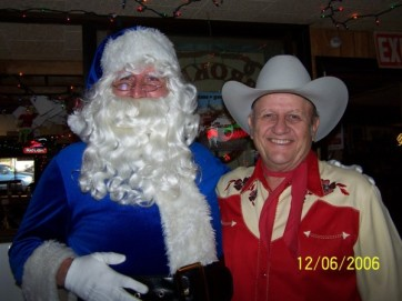 And what would the Blue Santa Breakfast be without Blue Santa? And, of course, Mr. James White, the gracious host of The Broken Spoke!