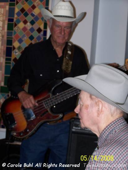 """Skinny"" Don Keeling helped keep the beat on bass."