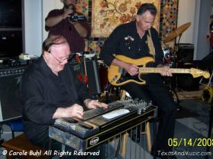 And, here's our Jimmy on steel and Ray Tessmer on lead guitar