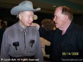 Jimmy Grabowske and Skeeter visiting