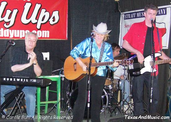 Ruthie & The Wranglers with our old friend Jim Stringer sitting in on lead.