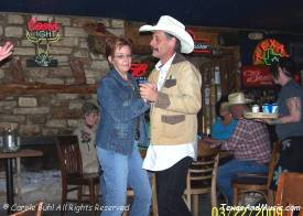 Nancy owns Giddy Ups and Michael took care of the booking
