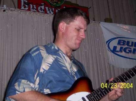 Chris keeps that guitar singin
