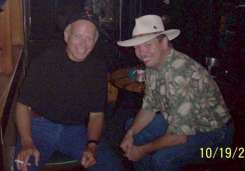 Wayne with long time friend Mike
