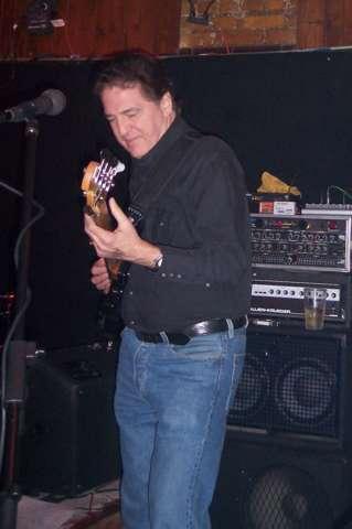 Gene doing some hot licks on Bucky's bass