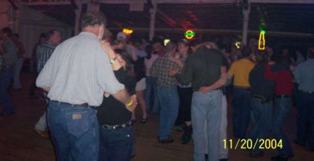 The dance floor was full almost all night