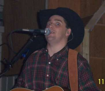 Ricky did a great Kevin Fowler imitation complete with the eye rolling!!